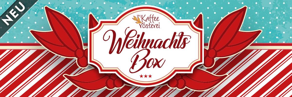 Ihre individuelle Weihnachts Box: wählen Sie aus 5 Kaffees