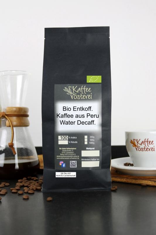 Entkoffeinierter Kaffee aus Kolumbien